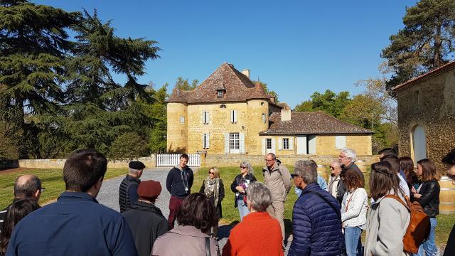 Groupe Au Château De Sabazan